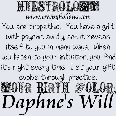 April 27 Huestrology
