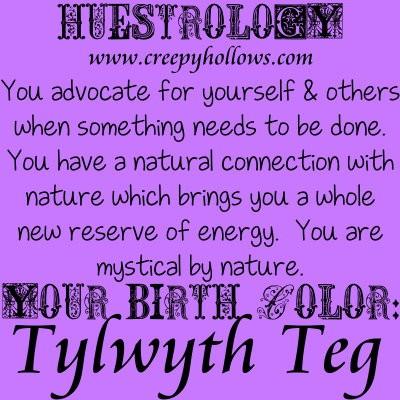 August 07 Huestrology