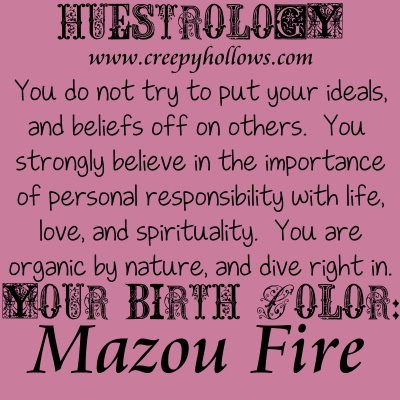 February 20 Huestrology