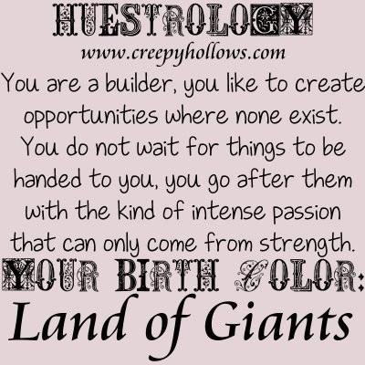 March 09 Huestrology