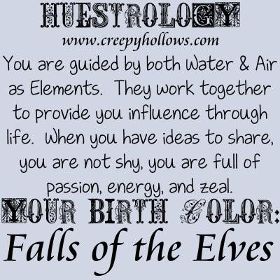 May 02 Huestrology