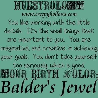 May 12 Huestrology