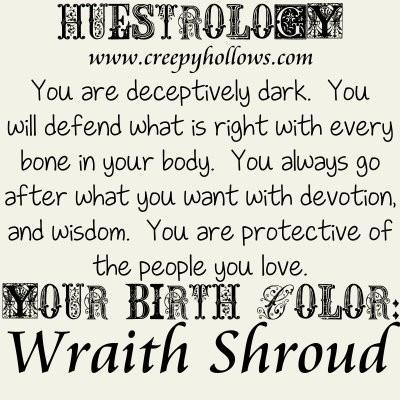 May 16 Huestrology