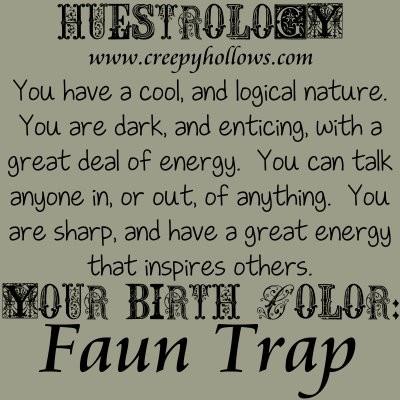 May 24 Huestrology