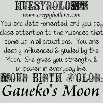 May 28 Huestrology