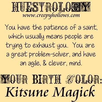 November 12 Huestrology