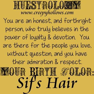 November 18 Huestrology