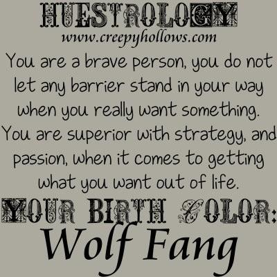 November 19 Huestrology