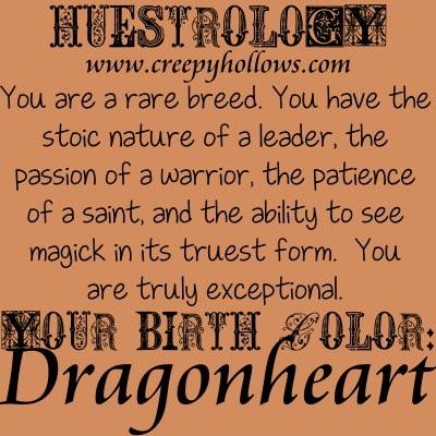October 21 Huestrology