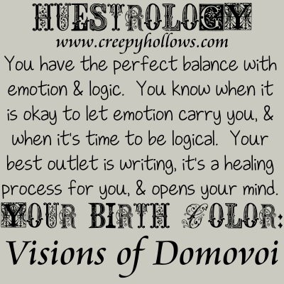 September 08 Huestrology