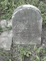 Toddler Grave