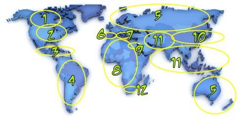 spell religion map